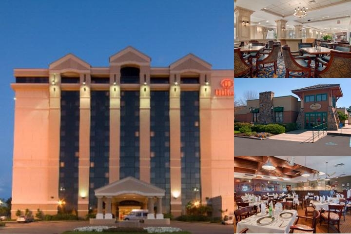 Hilton photo collage
