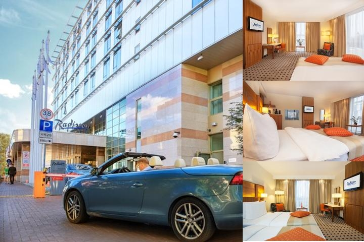 Radisson Hotel Kaliningrad photo collage