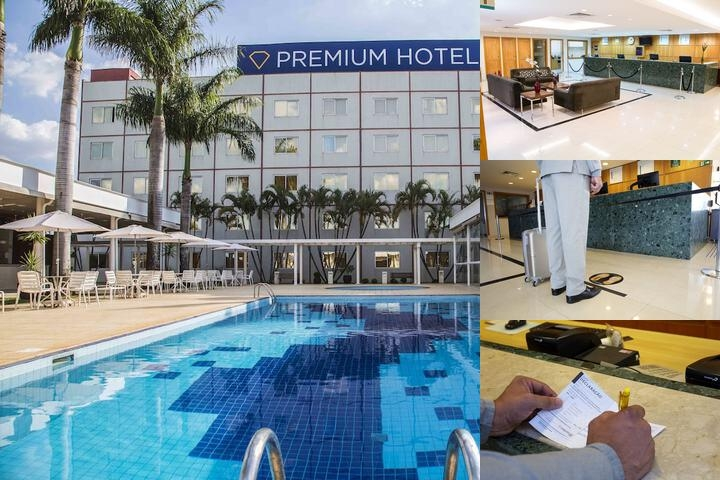 Hotel Premium Campinas photo collage