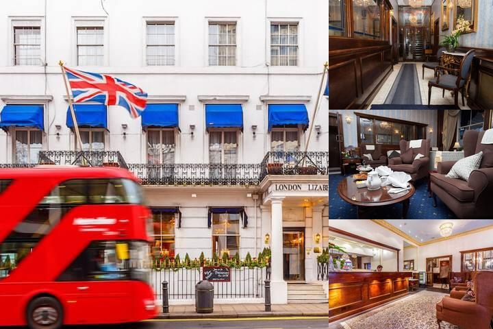 The London Elizabeth Hotel photo collage