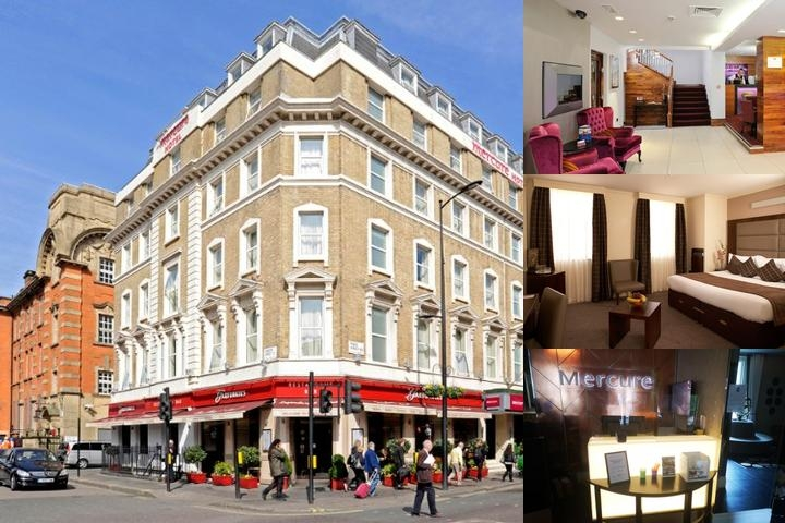 Mercure London Paddington photo collage