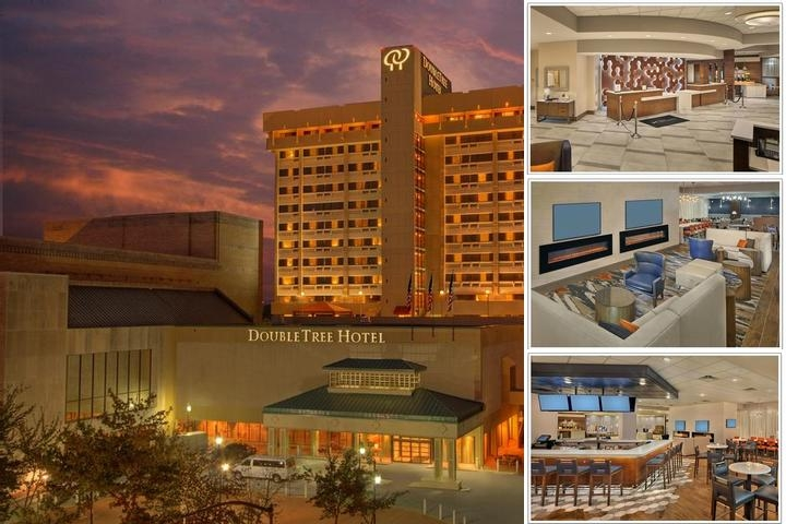 Doubletree by Hilton Little Rock photo collage