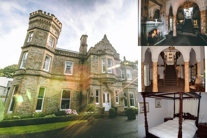 Hollin Hall Hotel photo collage