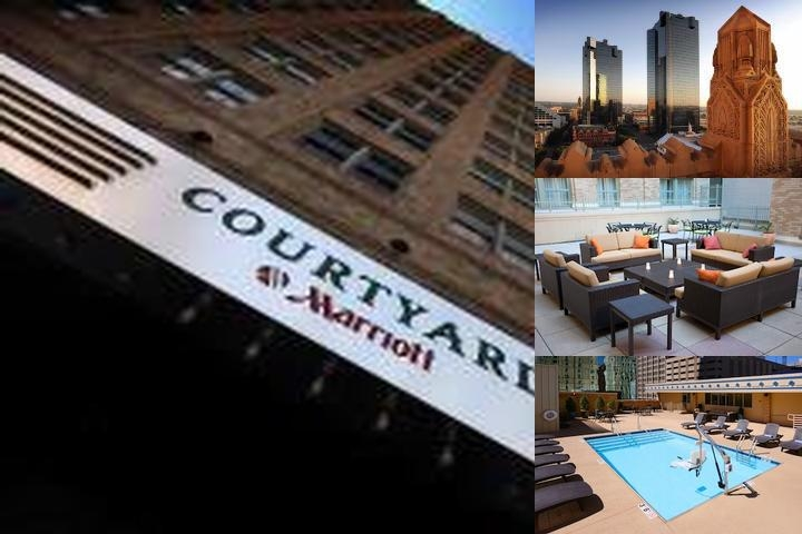 Courtyard Fort Worth Downtown / Blackstone photo collage