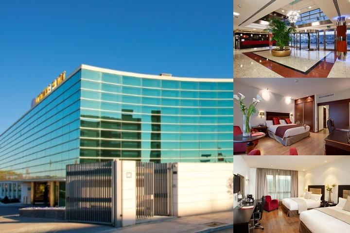 Crowne Plaza Madrid Airport photo collage