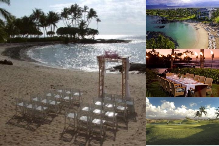 The Fairmont Orchid Hawaii photo collage
