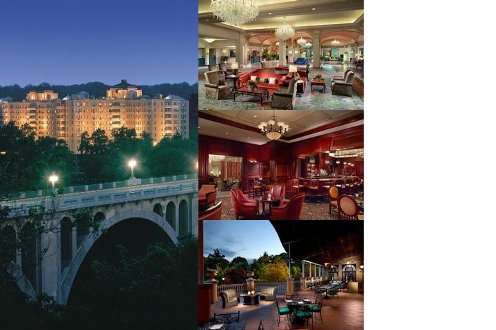 Omni Shoreham Hotel photo collage