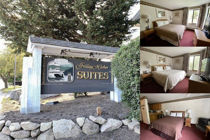 Friday Harbor Suites photo collage