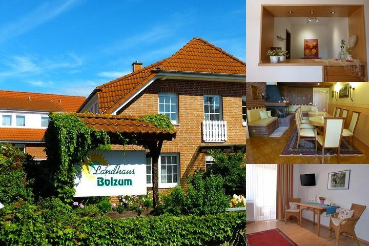 Landhaus Bolzum photo collage