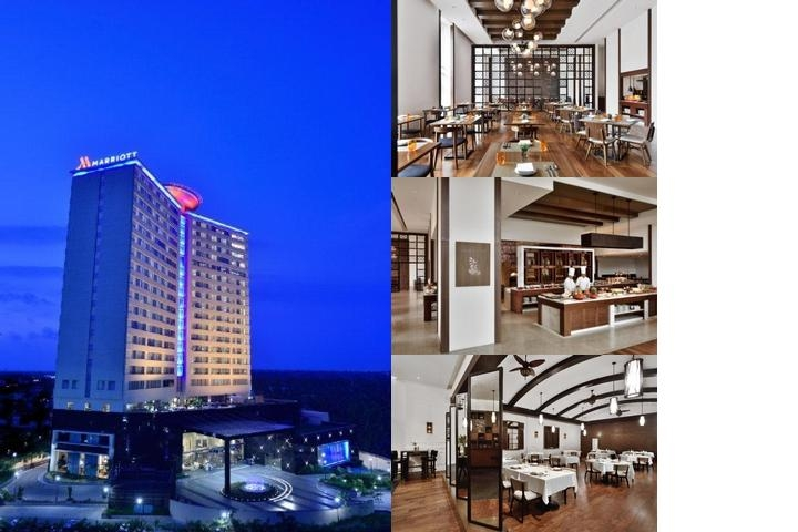 Kochi Marriott Hotel photo collage