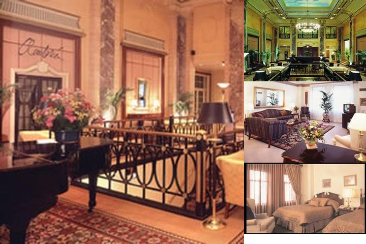 Belden Stratford Hotel photo collage