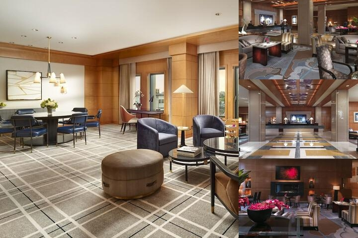 Mandarin Oriental Boston photo collage