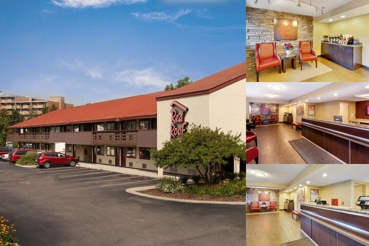 Red Roof Inn Dearborn photo collage