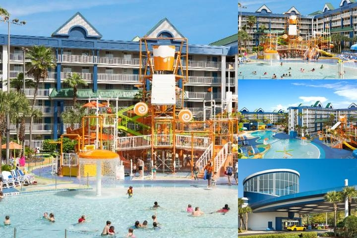 Holiday Inn Resort Orlando Suites Waterpark photo collage