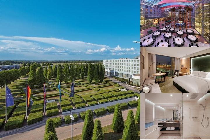 Hilton Munich Airport photo collage