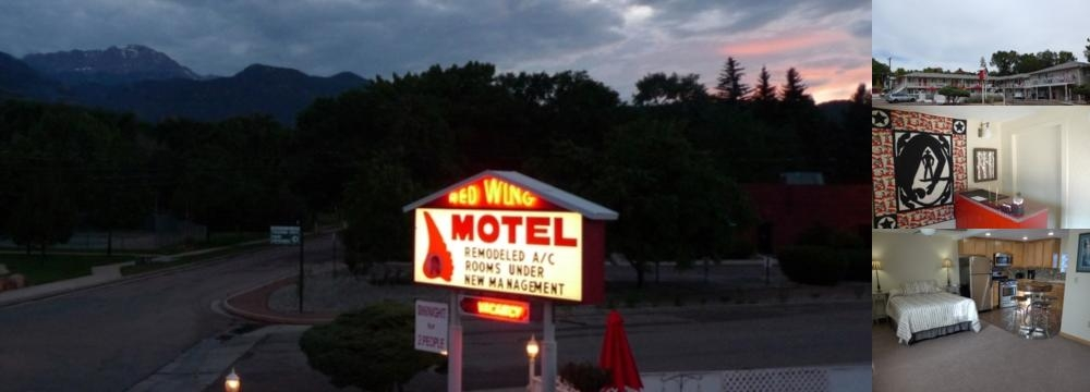 Red Wing Motel photo collage