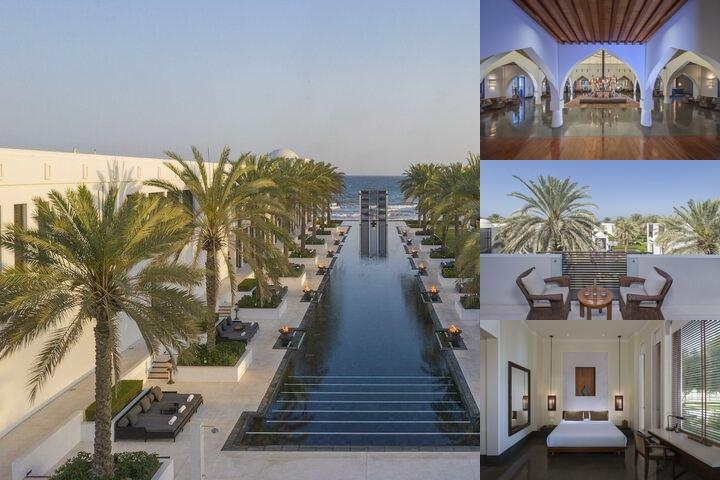 The Chedi Muscat photo collage