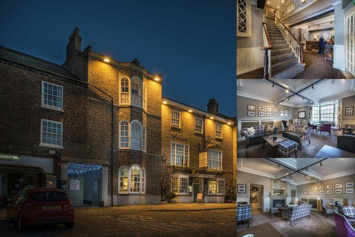 The Golden Fleece Hotel photo collage