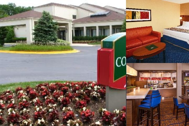 Marriott Courtyard University Research Park photo collage