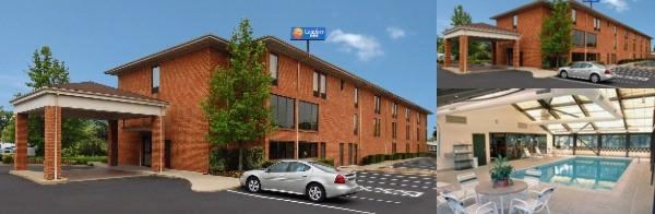 Comfort Inn Pine Grove photo collage