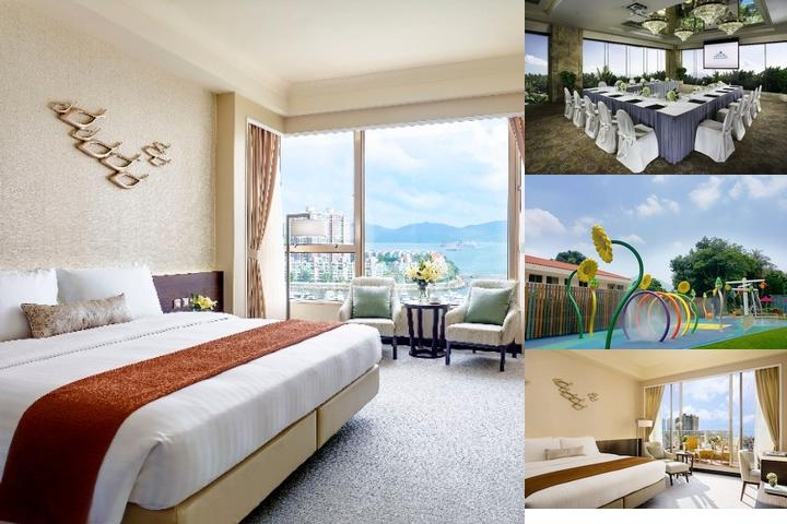 Hong Kong Gold Coast Hotel photo collage