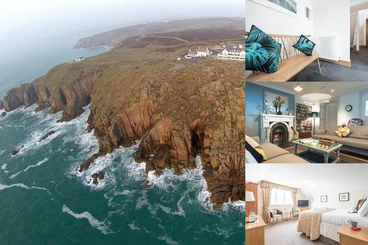 The Land's End Hotel photo collage