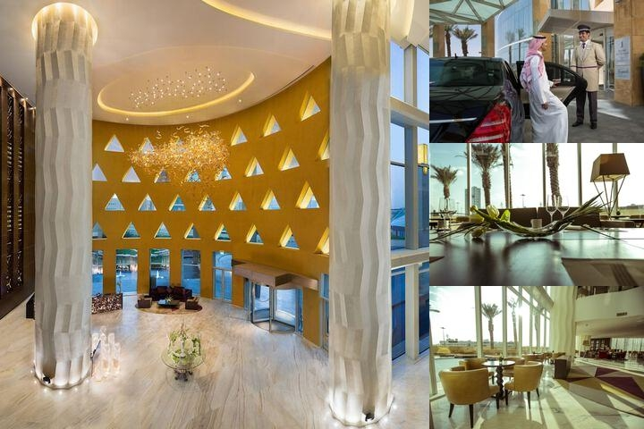 Burj Rafal Hotel Kempinski photo collage