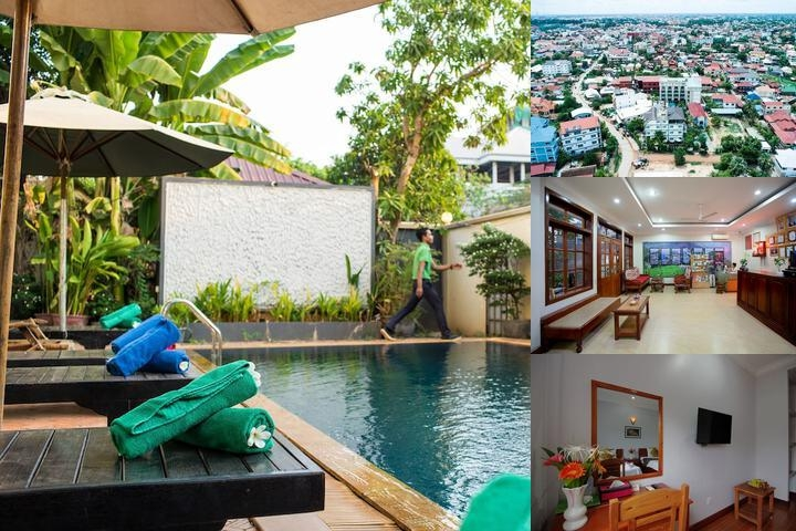 Bliss Villa photo collage