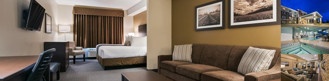 Best Western Plus Lacombe Inn & Suites photo collage