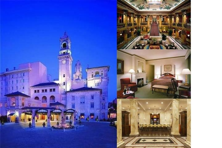 Jefferson Hotel photo collage
