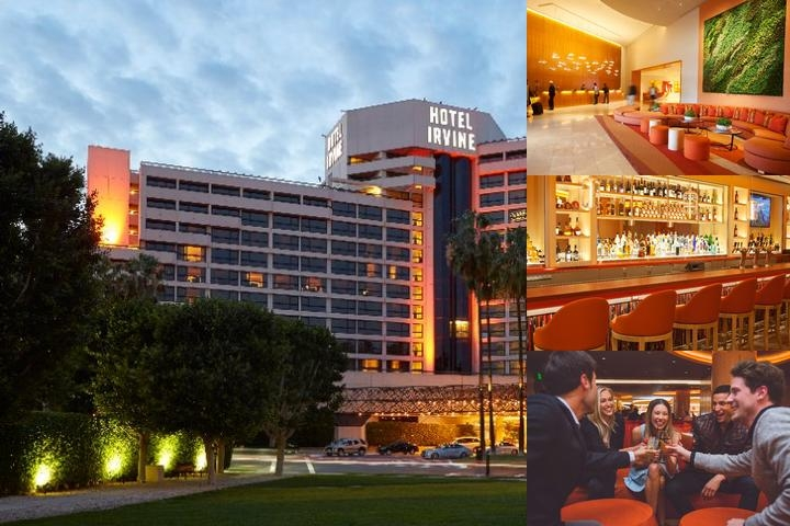 Hotel Irvine photo collage
