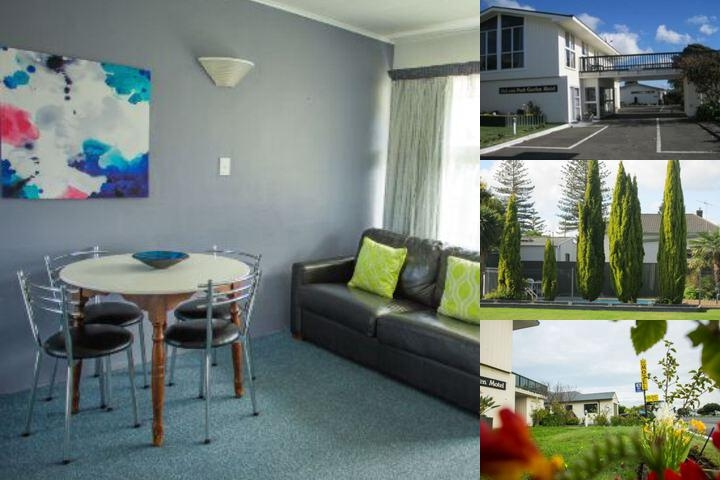 Napier Garden Motel photo collage
