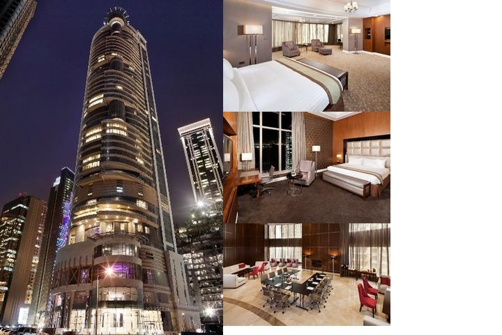 Melia Doha photo collage