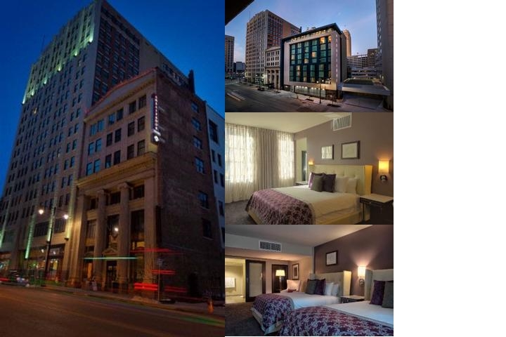 The Ambassador Hotel Kansas City photo collage