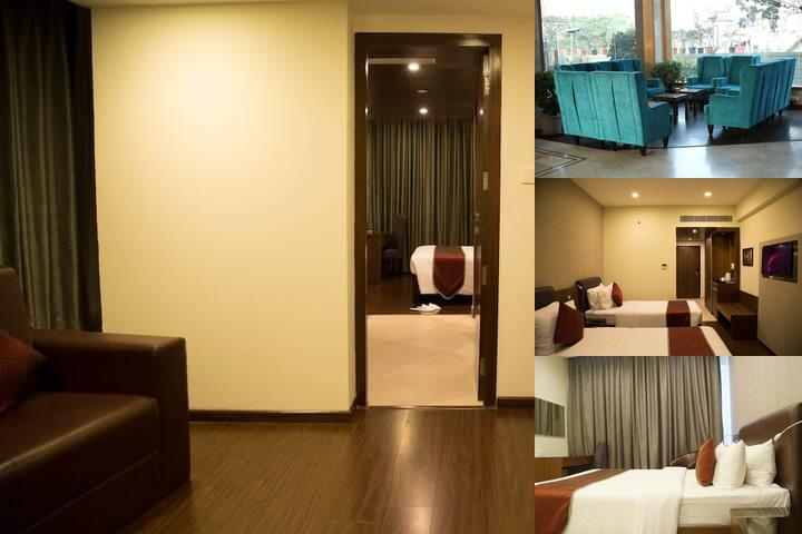 V7 Hotel photo collage