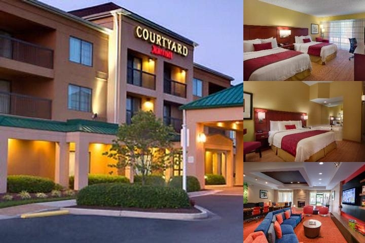 Courtyard Marriott Richmond Airport photo collage