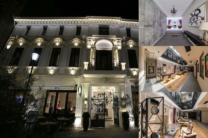 The Mansion Boutique Hotel photo collage