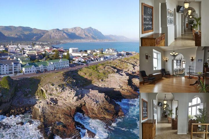 Windsor Hotel Hermanus photo collage