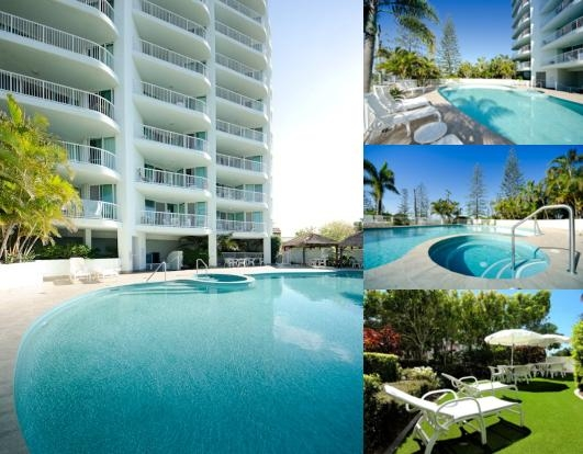 Crystal Bay on the Broadwater photo collage