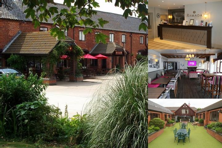 The Olde Barn Hotel photo collage