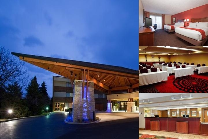 The Holiday Inn Express Downers Grove photo collage
