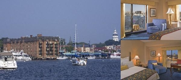Annapolis Waterfront Hotel photo collage