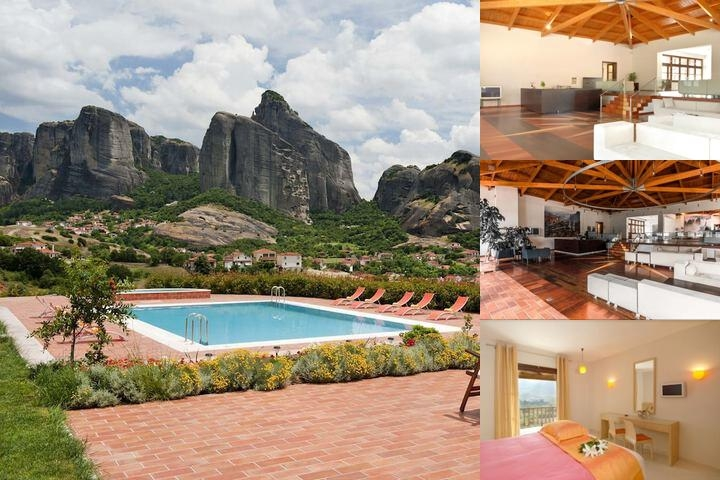 Meteora Hotel photo collage