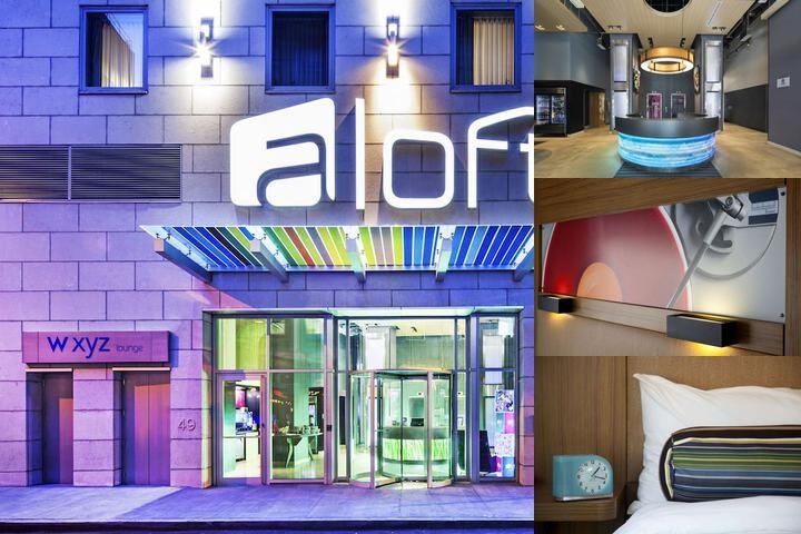 Aloft Manhattan Downtown photo collage