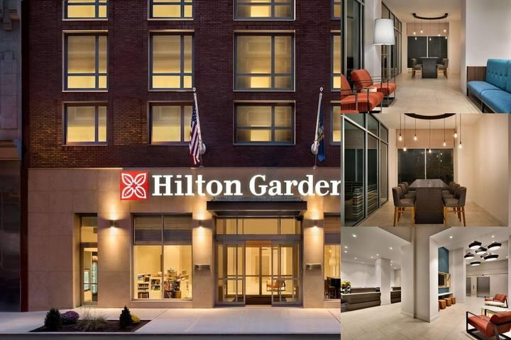 Hilton Garden Inn New York Times Square South photo collage