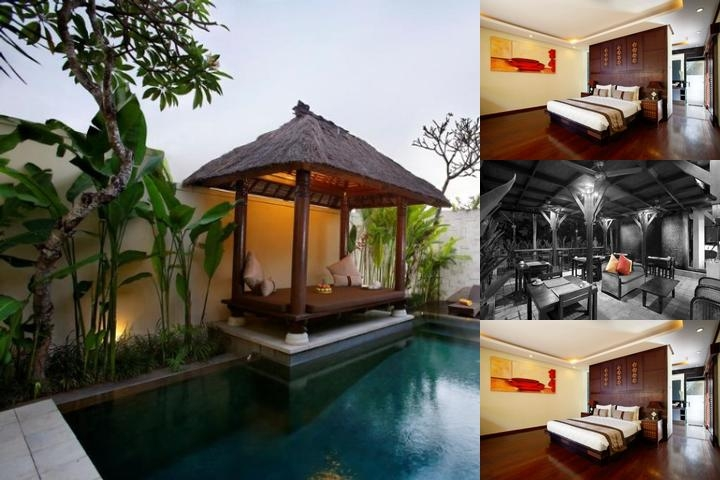 Great Villas at Berawa Beach Canggu photo collage