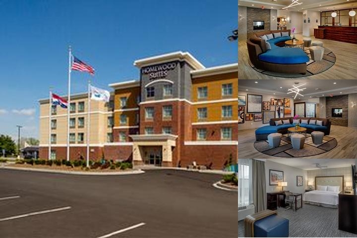 Homewood Suites by Hilton St. Louis Westport photo collage