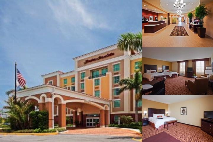 Hampton Inn & Suites Ft. Lauderdale Miramar photo collage