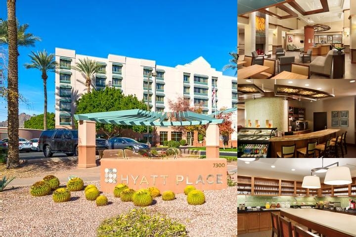 Hyatt Place Scottsdale / Old Town photo collage