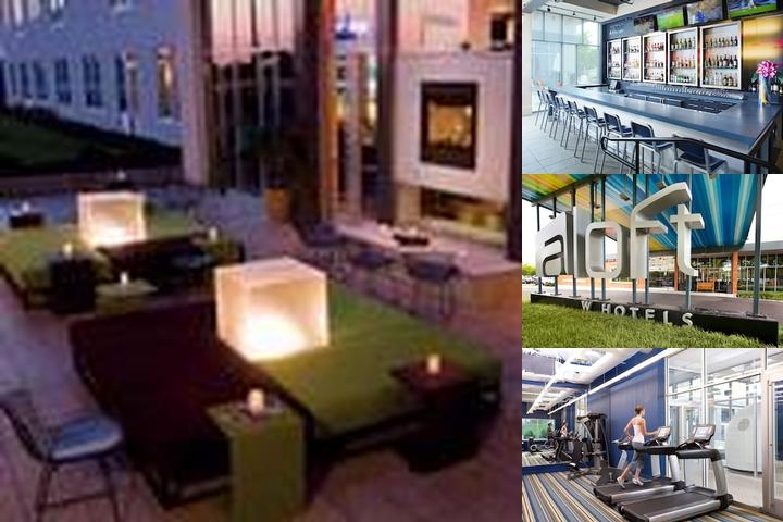 Aloft Philadelphia Airport photo collage